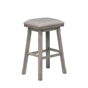 Bar Height Backless Stool
