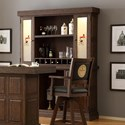E.C.I. Furniture Guinness Bar Back Bar and Hutch - Item Number: 0807-89-BB+H