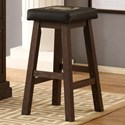 E.C.I. Furniture Guinness Bar Saddle Stool - Item Number: 0807-89-SS