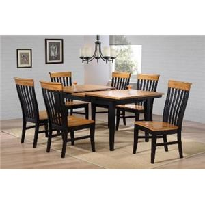E.C.I. Furniture Lancaster Solid Wood Dining Table