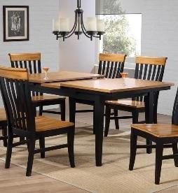 Solid Wood 5-Piece Dining Set
