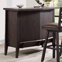 E.C.I. Furniture Lexington Serving Bar - Item Number: 3095-50-B+T