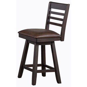 "E.C.I. Furniture Lexington 26"" Swivel Stool"