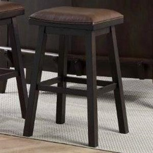 "E.C.I. Furniture Lexington 30"" Saddle Stool"