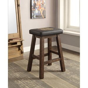 E.C.I. Furniture Miller High Life Miller Saddle Stool