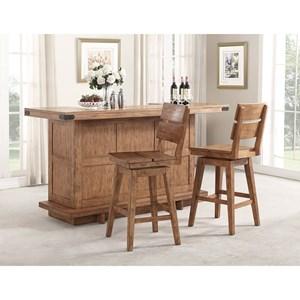 E.C.I. Furniture Shenandoah - 0515 Bar Base + Top