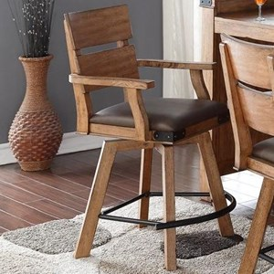 E.C.I. Furniture Shenandoah - 0515 Counter Stool