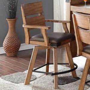 E.C.I. Furniture Shenandoah - 0515 Counter Stool