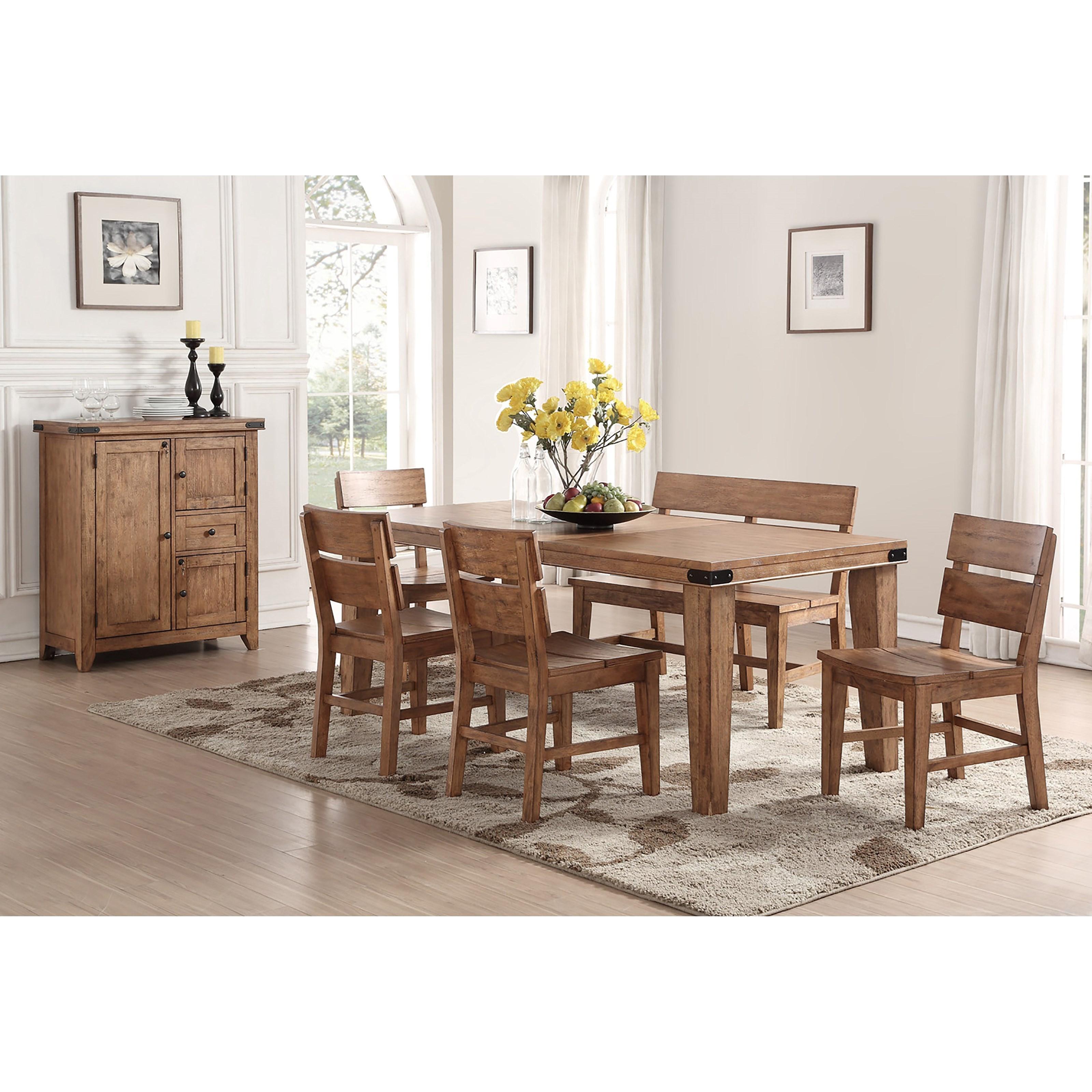E.C.I. Furniture Shenandoah 6 Pc Dining Set | Northeast ...