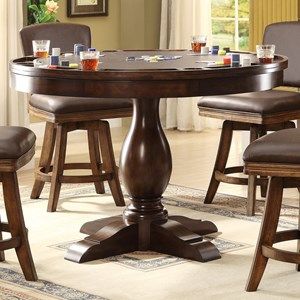 E.C.I. Furniture Trafalgar - 0403 Game Table Base + Top
