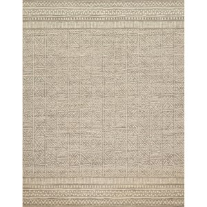 "ED Ellen DeGeneres Crafted by Loloi Tribu 1'-6"" X 1'-6"" Square  Rug"