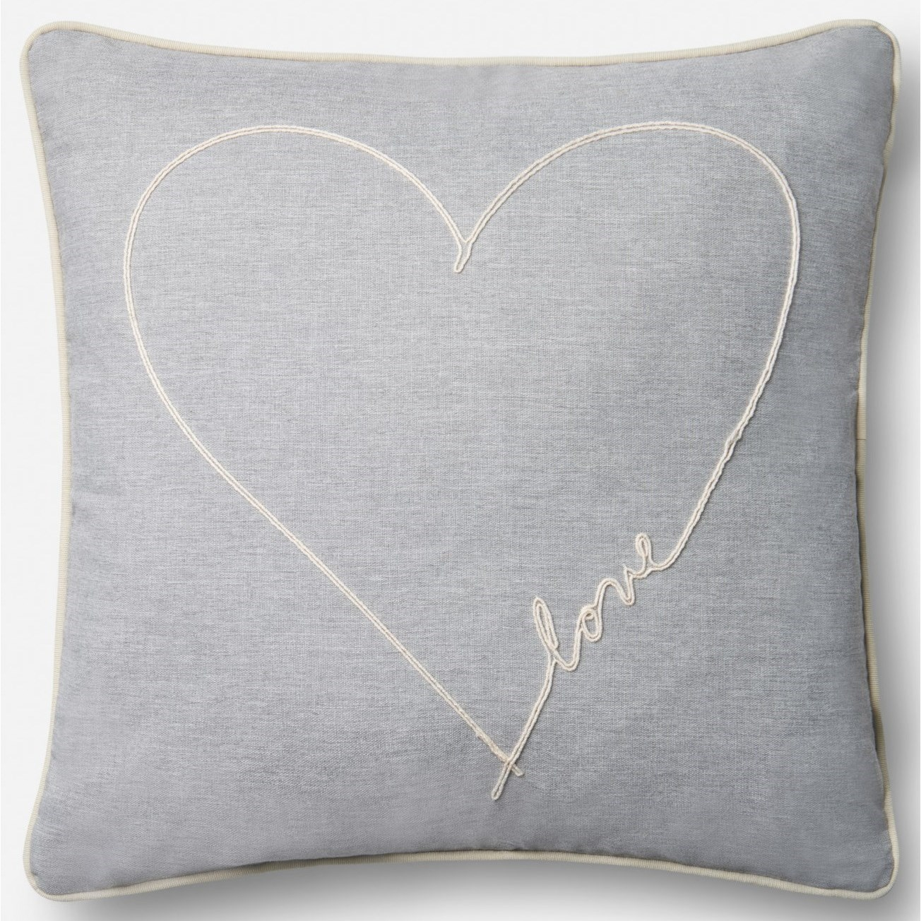 """18"""" X 18"""" Pillow Cover w/Down"""