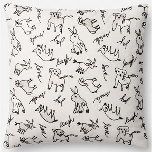 "18"" X 18"" Pillow Cover w/Down"