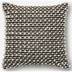 "ED Ellen DeGeneres Crafted by Loloi Woven  Pillows 22"" X 22"" Cover Only Pillow"