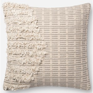 """ED Ellen DeGeneres Crafted by Loloi Woven  Pillows 22"""" X 22"""" PillowCover"""