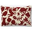 "ED Ellen DeGeneres Crafted by Loloi Woven  Pillows 13"" X 21"" Pillow Cover w/Poly - Item Number: PSETP4075REIVPIL5"
