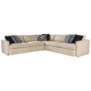ED Ellen DeGeneres Crafted by Thomasville Ellen DeGeneres 3 Pc Ladera Sectional