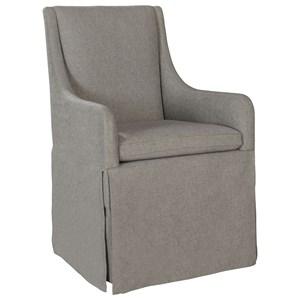 ED Ellen DeGeneres Crafted by Thomasville Ellen DeGeneres Dabney Skirted Chair