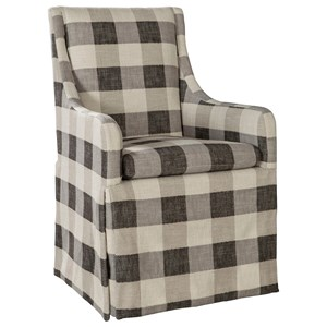 ED Ellen DeGeneres Crafted by Thomasville Ellen DeGeneres Dabney Skirted Chair