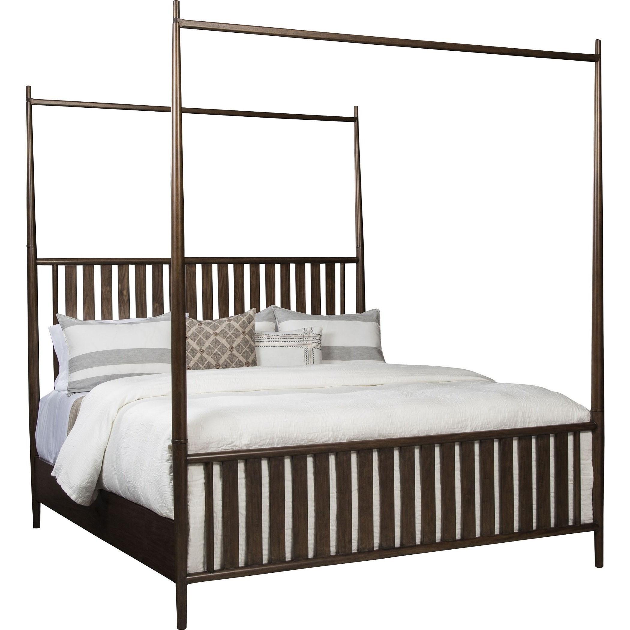 ED Ellen DeGeneres Crafted by Thomasville Ellen DeGeneres Marmont Poster Bed, Queen 5/0 Complete - Item Number: 85811-475