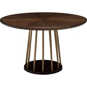 ED Ellen DeGeneres Crafted by Thomasville Ellen DeGeneres Lafitte Round Dining Table