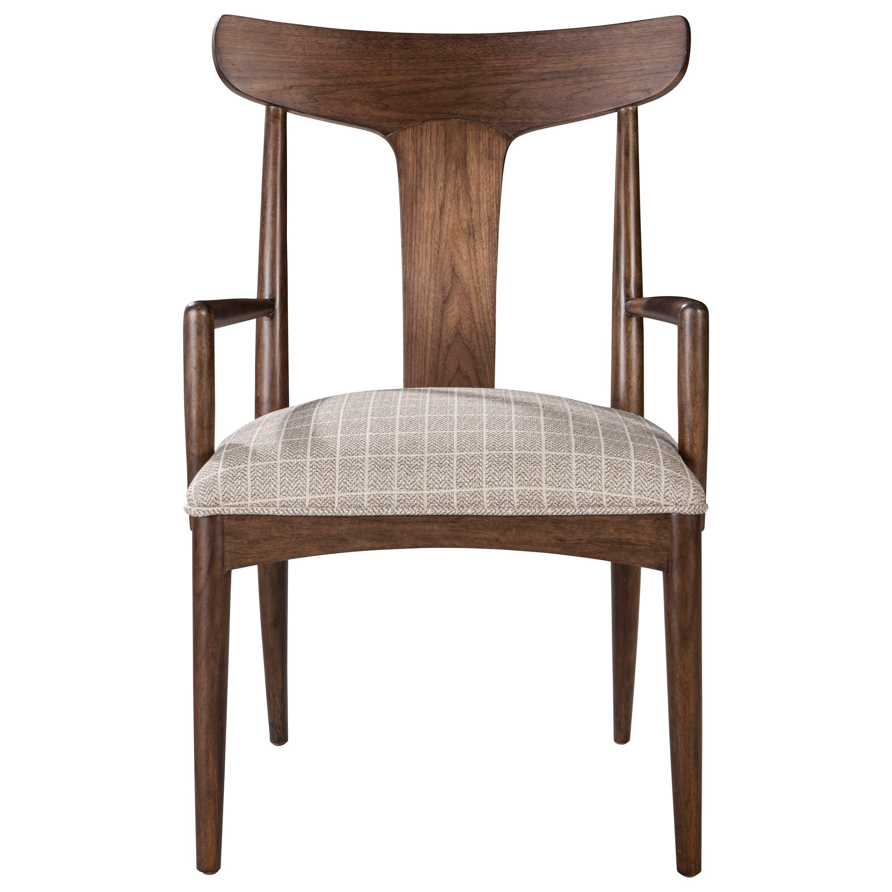 ED Ellen DeGeneres Crafted by Thomasville Ellen DeGeneres Lania Arm Chair - Item Number: 85821-822