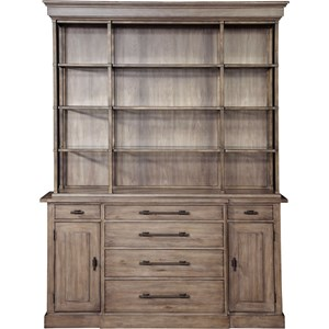 ED Ellen DeGeneres Crafted by Thomasville Ellen DeGeneres Sunset Crest Sideboard and China Hutch