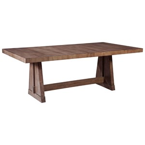 ED Ellen DeGeneres Crafted by Thomasville Ellen DeGeneres Glendale Trestle Table