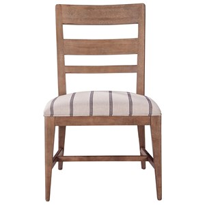 ED Ellen DeGeneres Crafted by Thomasville Ellen DeGeneres Hillside Ladderback Side Chair