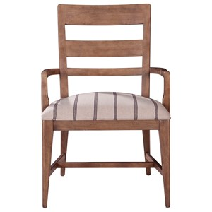 ED Ellen DeGeneres Crafted by Thomasville Ellen DeGeneres Hillside Ladderback Arm Chair