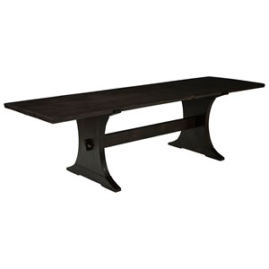 ED Ellen DeGeneres Crafted by Thomasville Ellen DeGeneres Coldwater Farmhouse Trestle Table