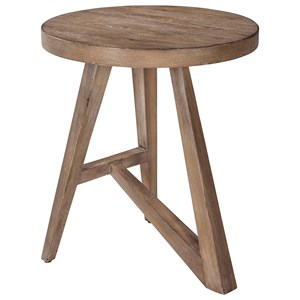 ED Ellen DeGeneres Crafted by Thomasville Ellen DeGeneres Bucktown Round Accent Table