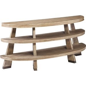 ED Ellen DeGeneres Crafted by Thomasville Ellen DeGeneres Van Nuys Canted Leg Console Table