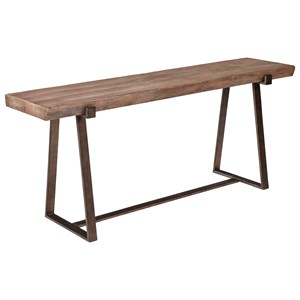 ED Ellen DeGeneres Crafted by Thomasville Ellen DeGeneres Hollyridge Live Edge Console Table