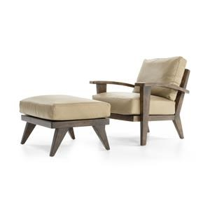 ED Ellen DeGeneres Crafted by Thomasville Ellen DeGeneres Hilcrest Chair & Ottoman Set
