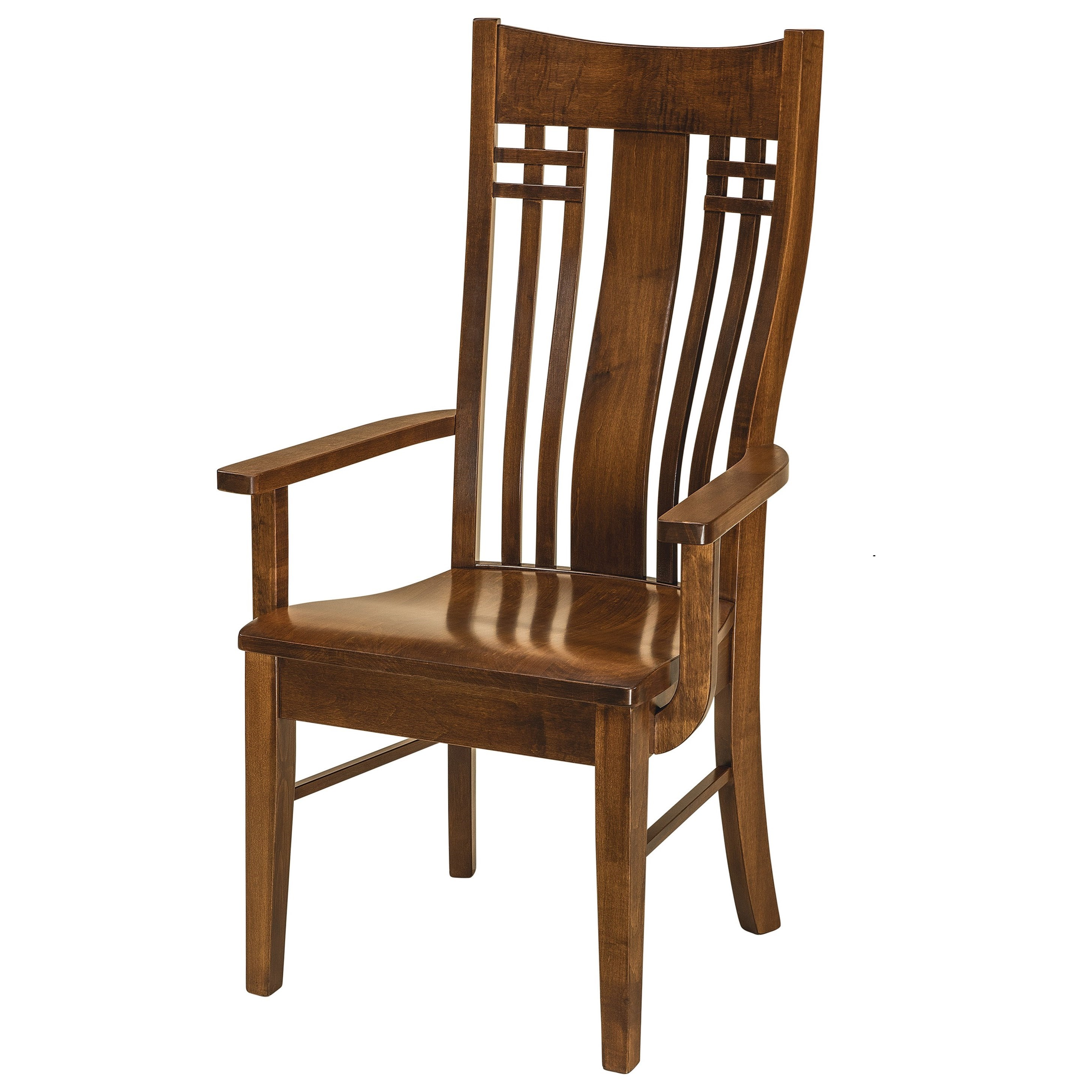 Arm Chair - Wood Seat