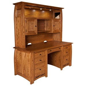 E&I Woodworking Boulder Creek Boulder Creek Desk