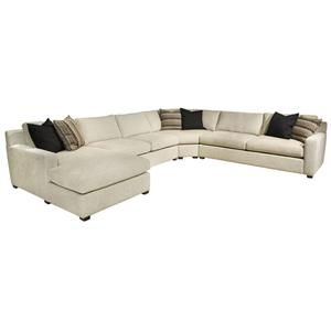 EJ Lauren Corinne  Sectional Sofa with Left Side Chaise