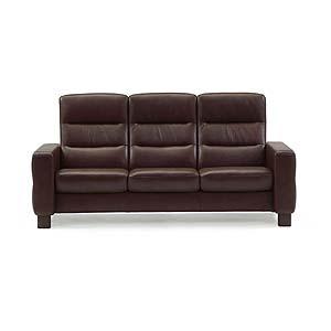 Stressless by Ekornes Stressless Wave High-Back Reclining Sofa