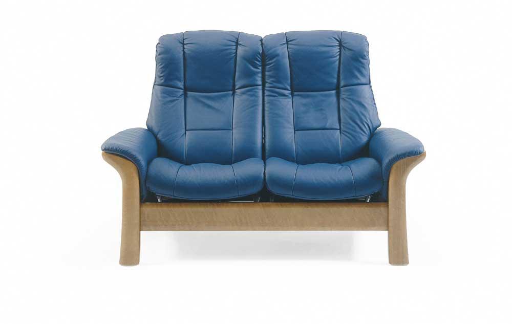 Stressless By Ekornes Stressless Windsor Highback Reclining Leather 2 Seat Sofa Conlin 39 S