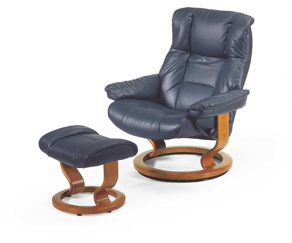 Stressless By Ekornes Stressless Recliners Mayfair Large Reclining Chair And Ottoman Hudson 39 S