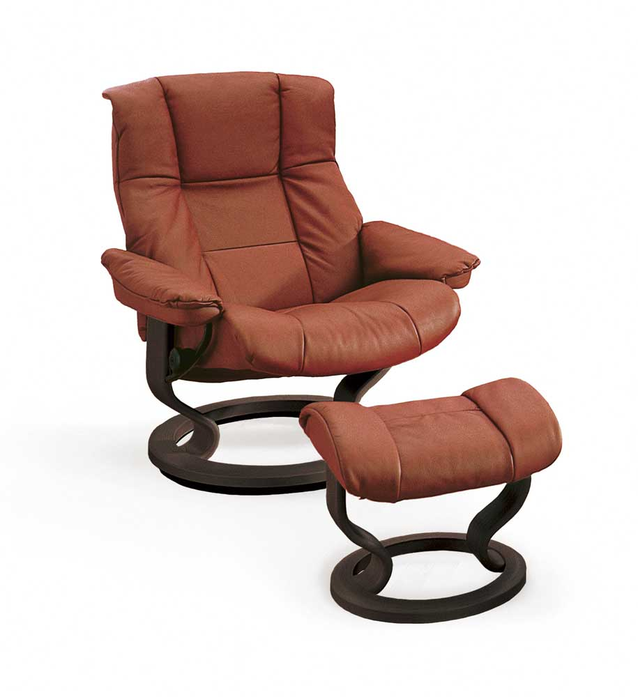 Stressless By Ekornes Stressless Recliners Mayfair Medium Reclining Chair And Ottoman Fashion