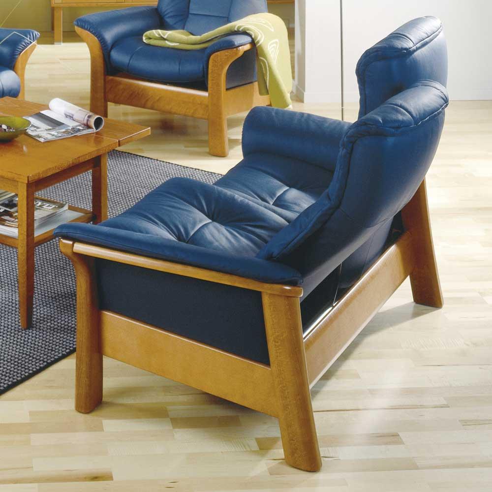 Stressless Stressless Windsor 1193020 Lowback Reclining Leather 2 Seat Sofa John V Schultz