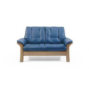 Low-Back Reclining Loveseat