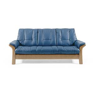 Stressless by Ekornes Stressless Windsor Lowback Reclining Sofa