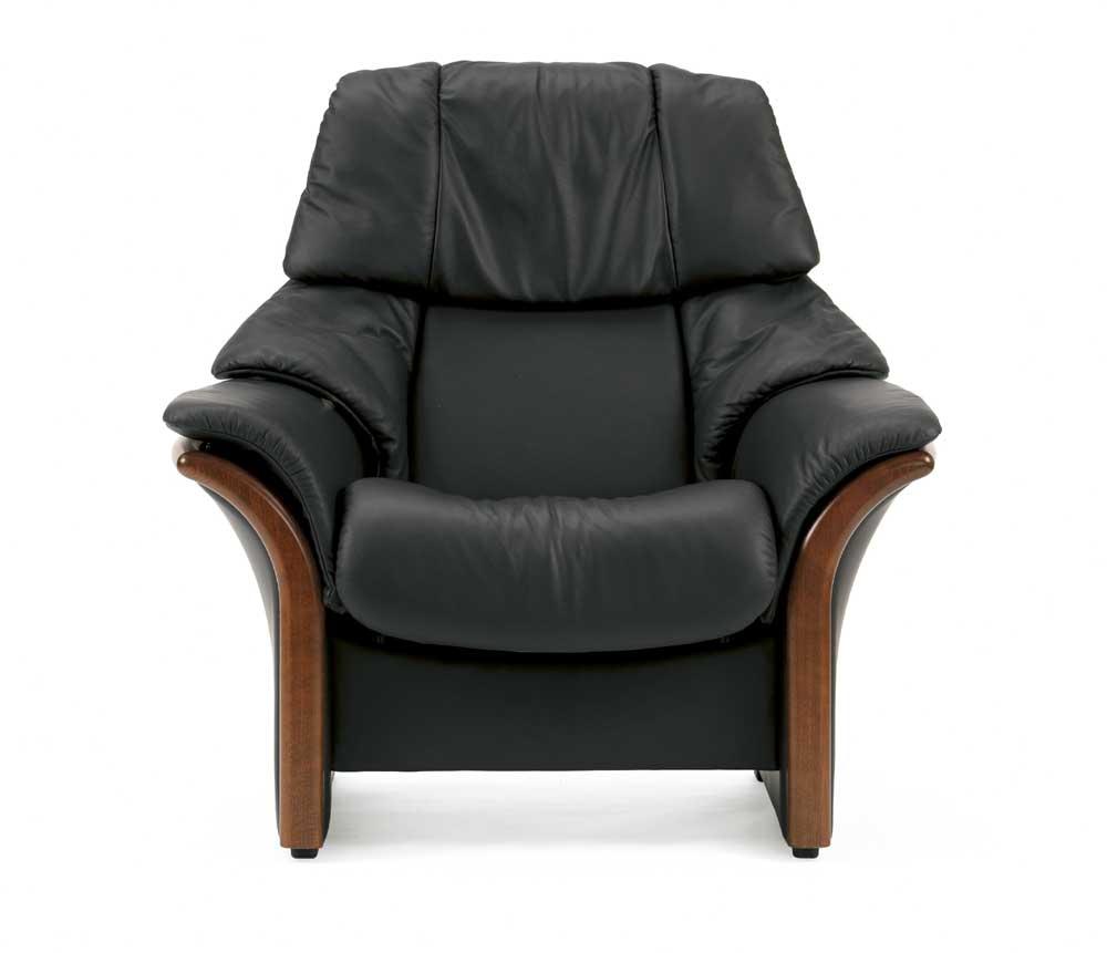 Stressless By Ekornes Stressless Eldorado High Back Reclining Leather Chair Dunk Bright