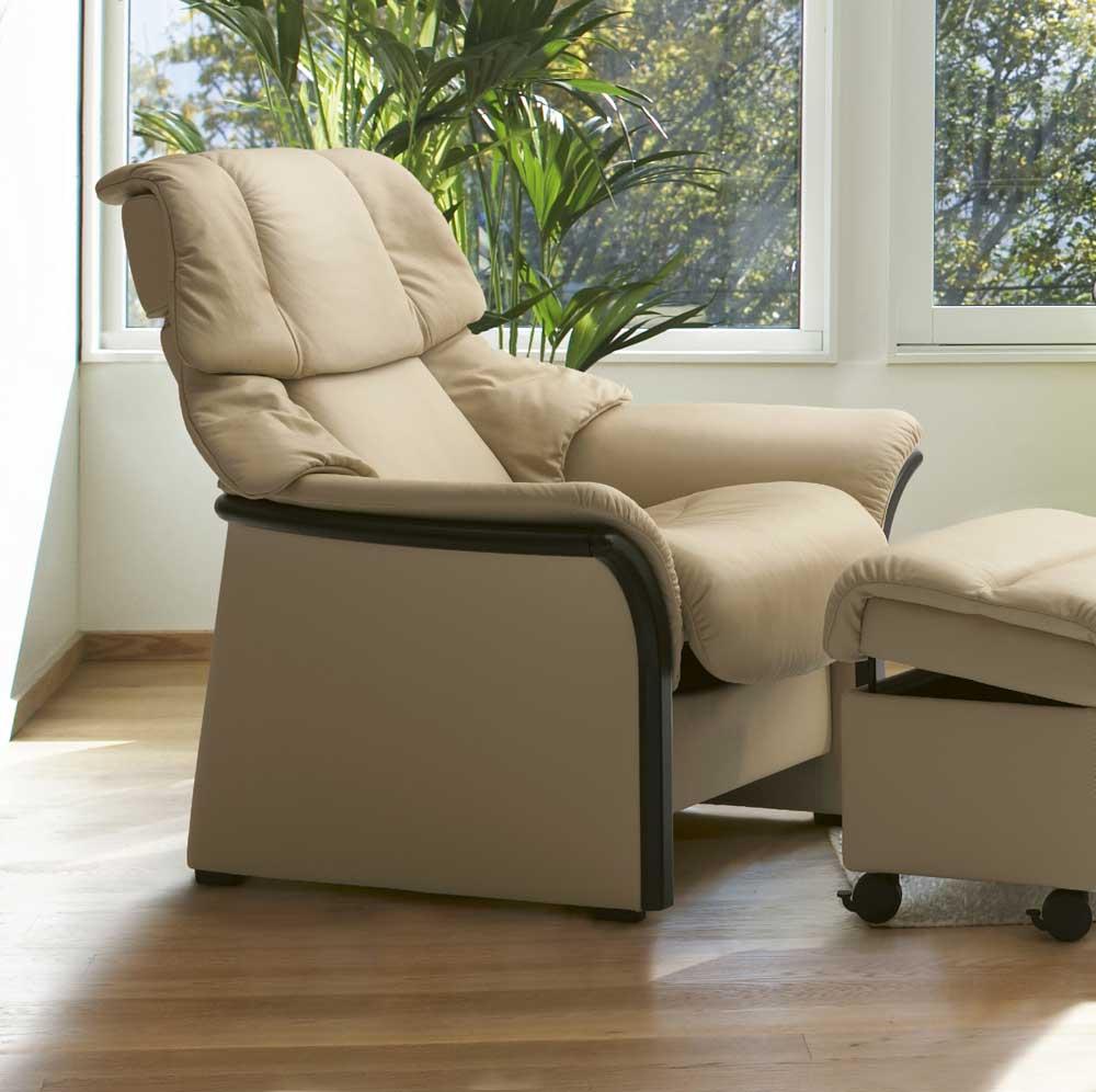 Stressless By Ekornes Stressless Eldorado 1215010 High Back Reclining Leather Chair John V