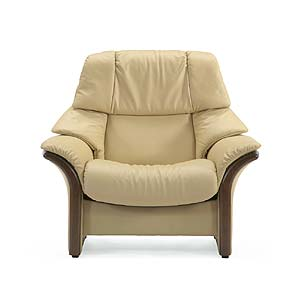 High-Back Reclining Chair with Arms
