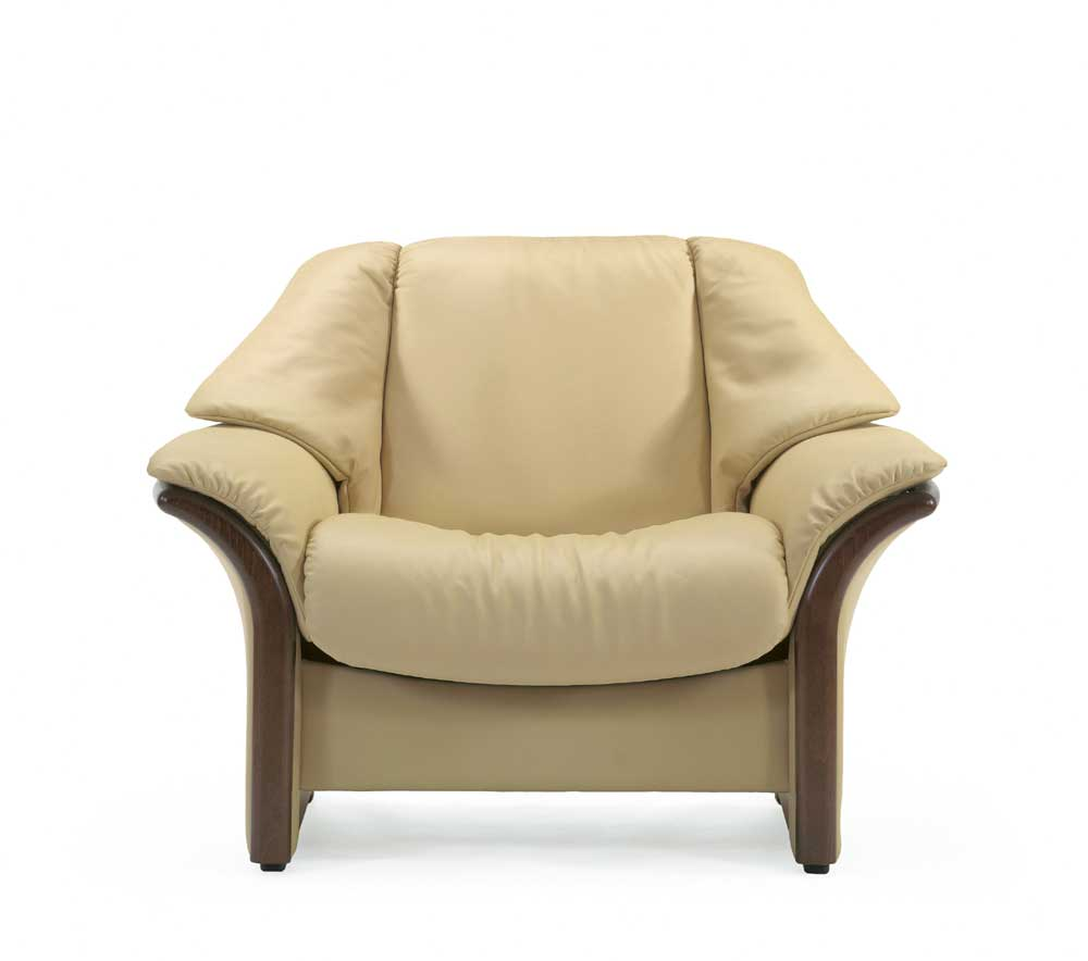 Stressless Eldorado Low Back Reclining Chair With Arms   Item Number: 375 51