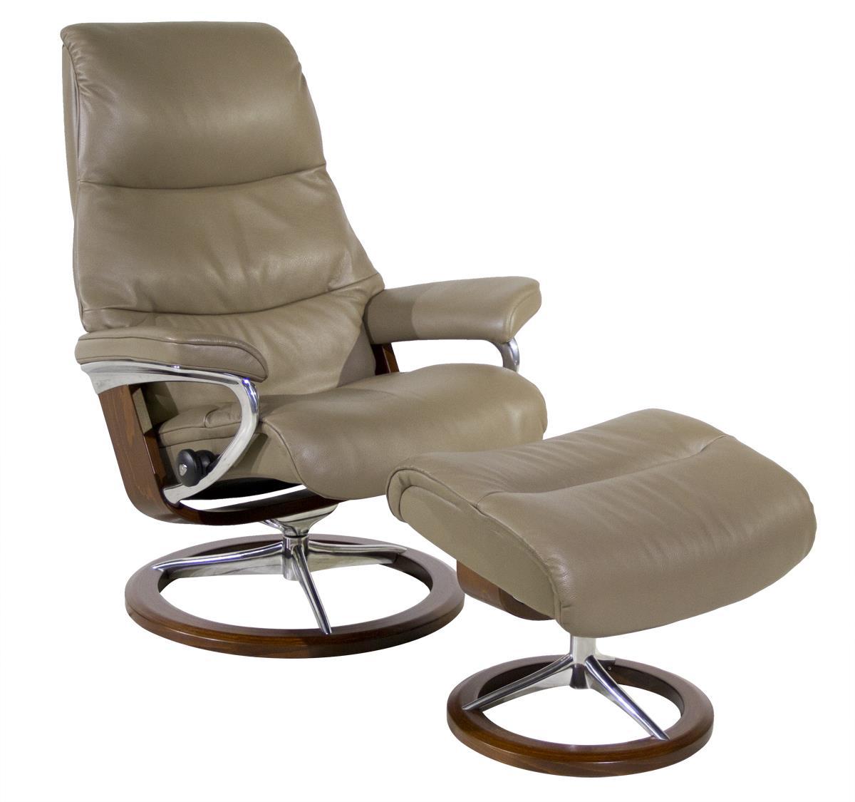 Stressless By Ekornes View Medium Stressless Chair U0026 Ottoman   Item Number:  View